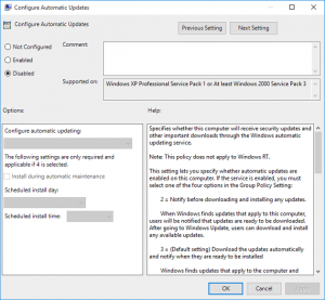 tắt windows10 update bằng group policy 4