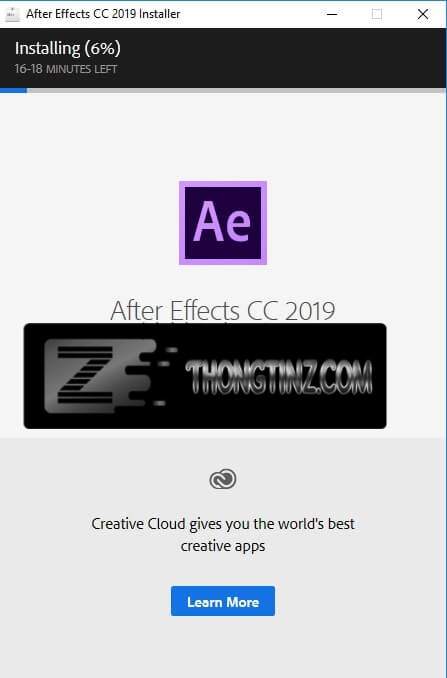 cài đặt after effects cc 2019 - 2